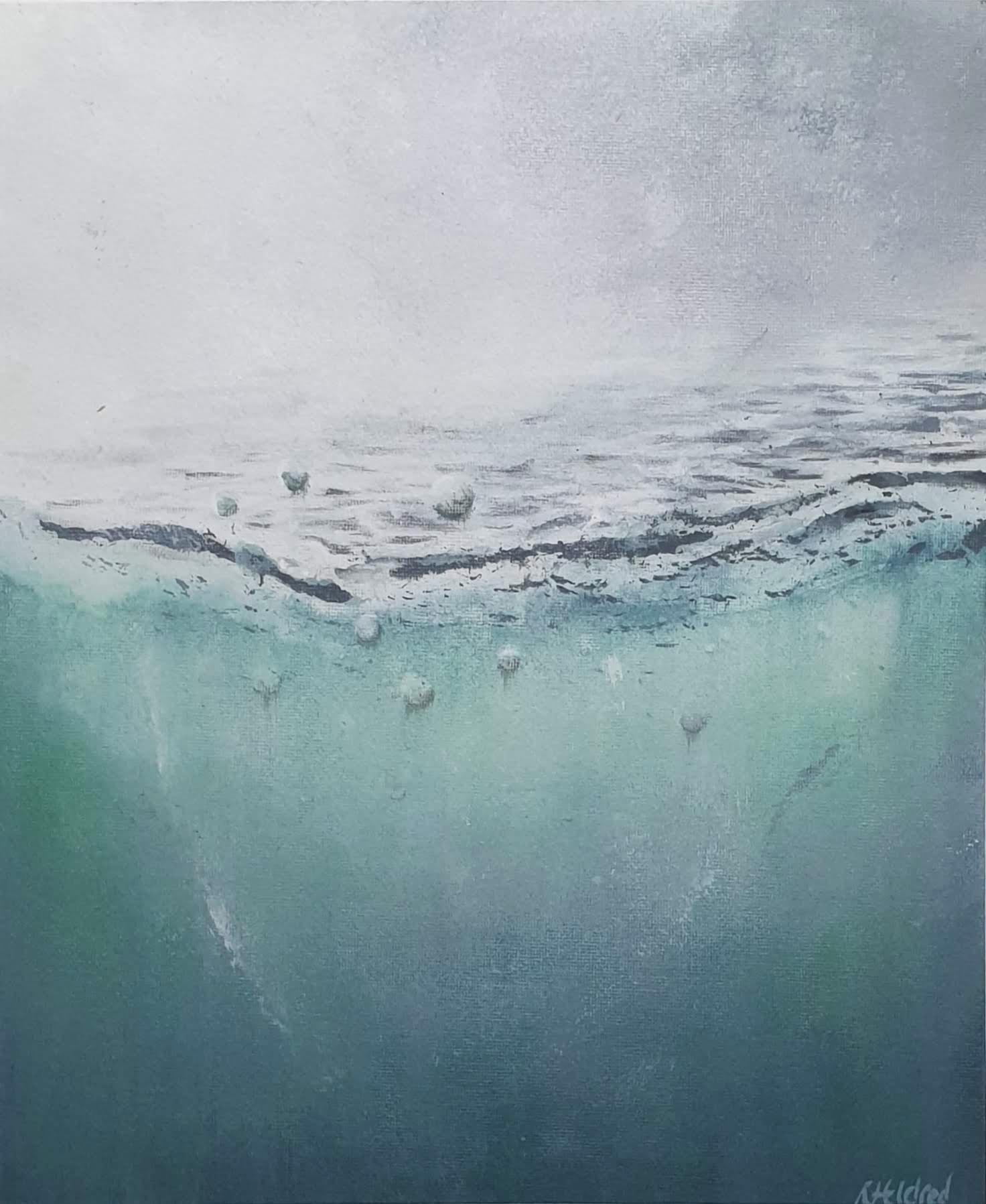 Sea mist - 25cm x 30cm£45
