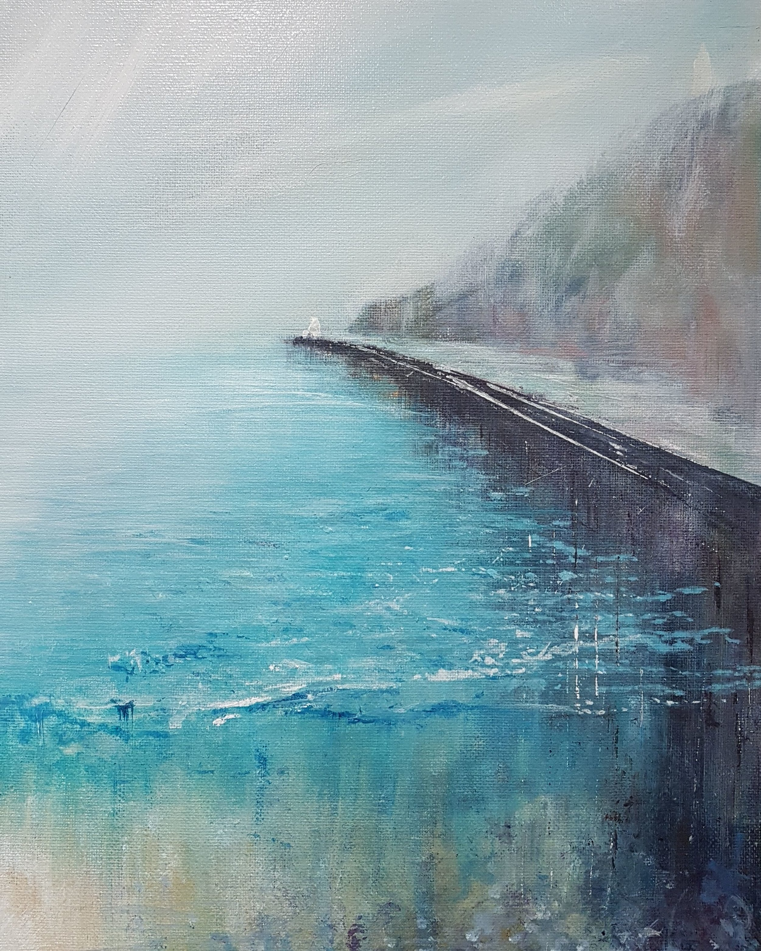 Portreath Harbour Wall SOLD