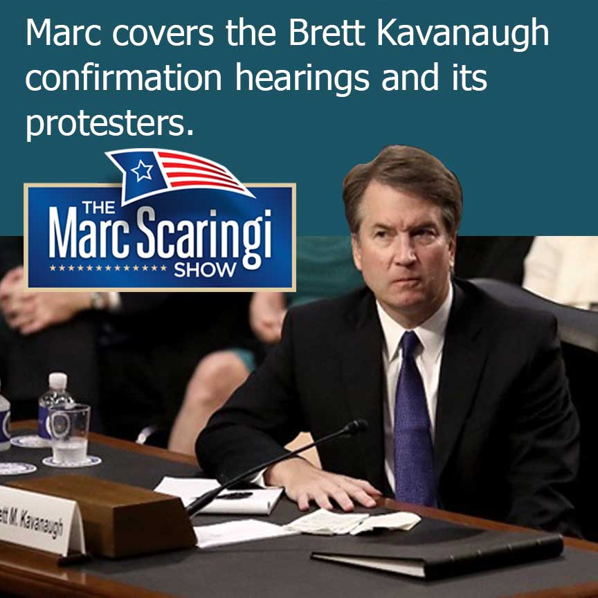 Video recording of The Marc Scaringi Show Sept 8, 2018