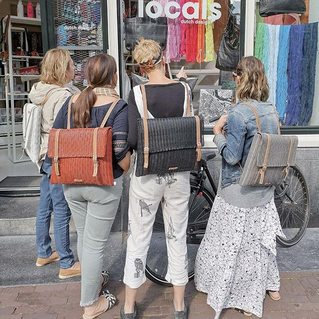 Recycled. Handcrafted. Clean. Timeless. Original. Multifunctional. Introducing the H Backpack. This is how the girls show us how the H Backpack fits into their daily schedule. Click the link in our bio to shop. . . . . . #fibraupcycle #upcycle #sustainablefashion #slowfashion #ethicalfashion #handmade #mindfullymade #handmadebags #madeinguatemala #recycledplastic #shopus