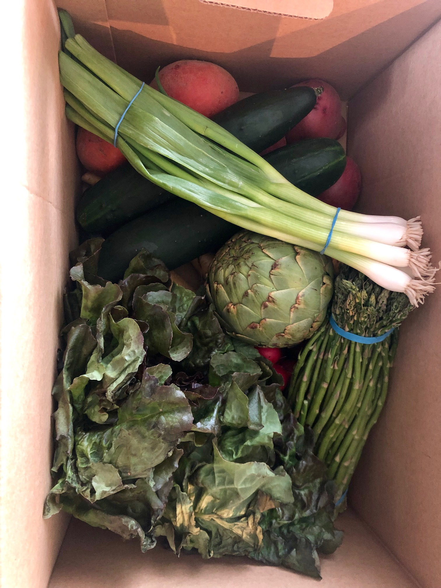 Produce delivery from Imperfect Produce.