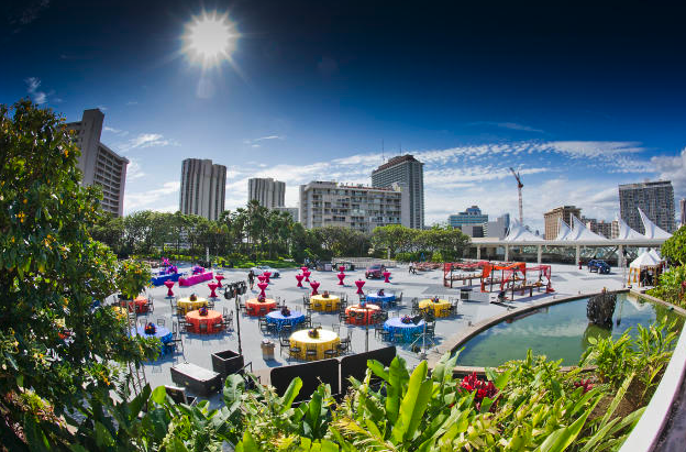 Hawaii Convention Centre Rooftop Garden