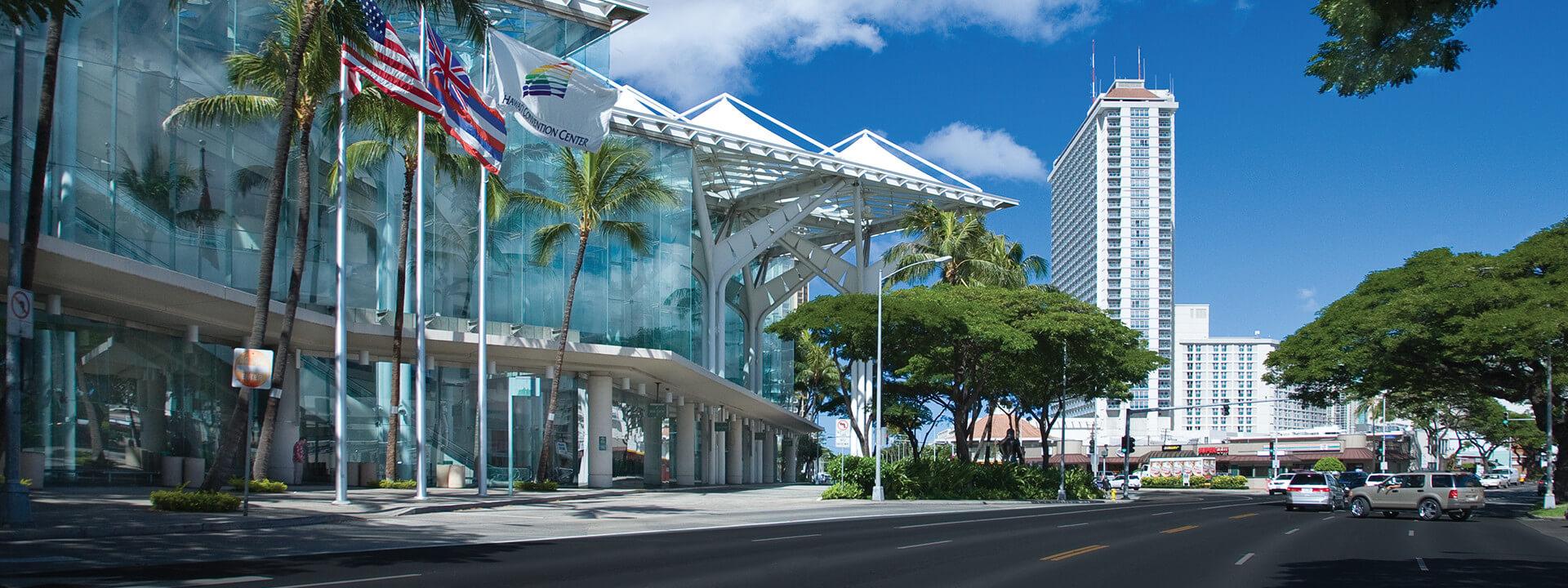 Honolulu Convention Centre.