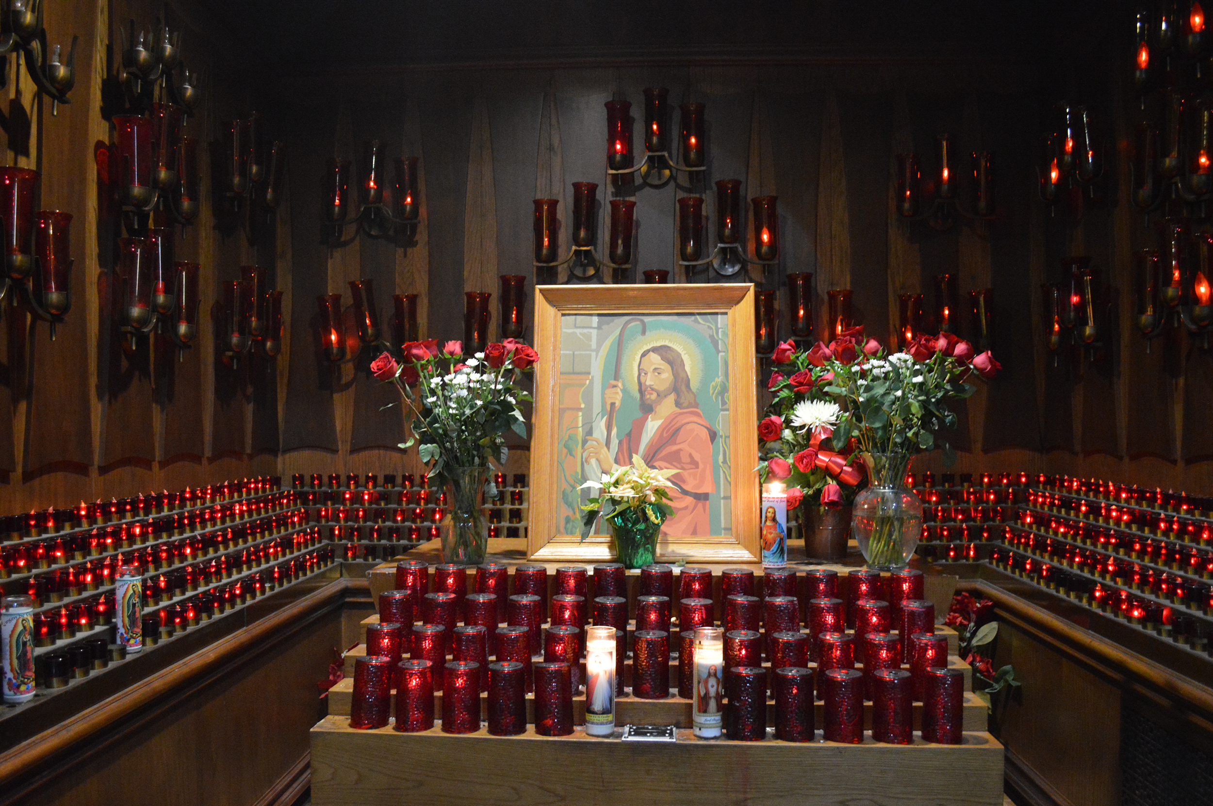 jesus red candles.JPG