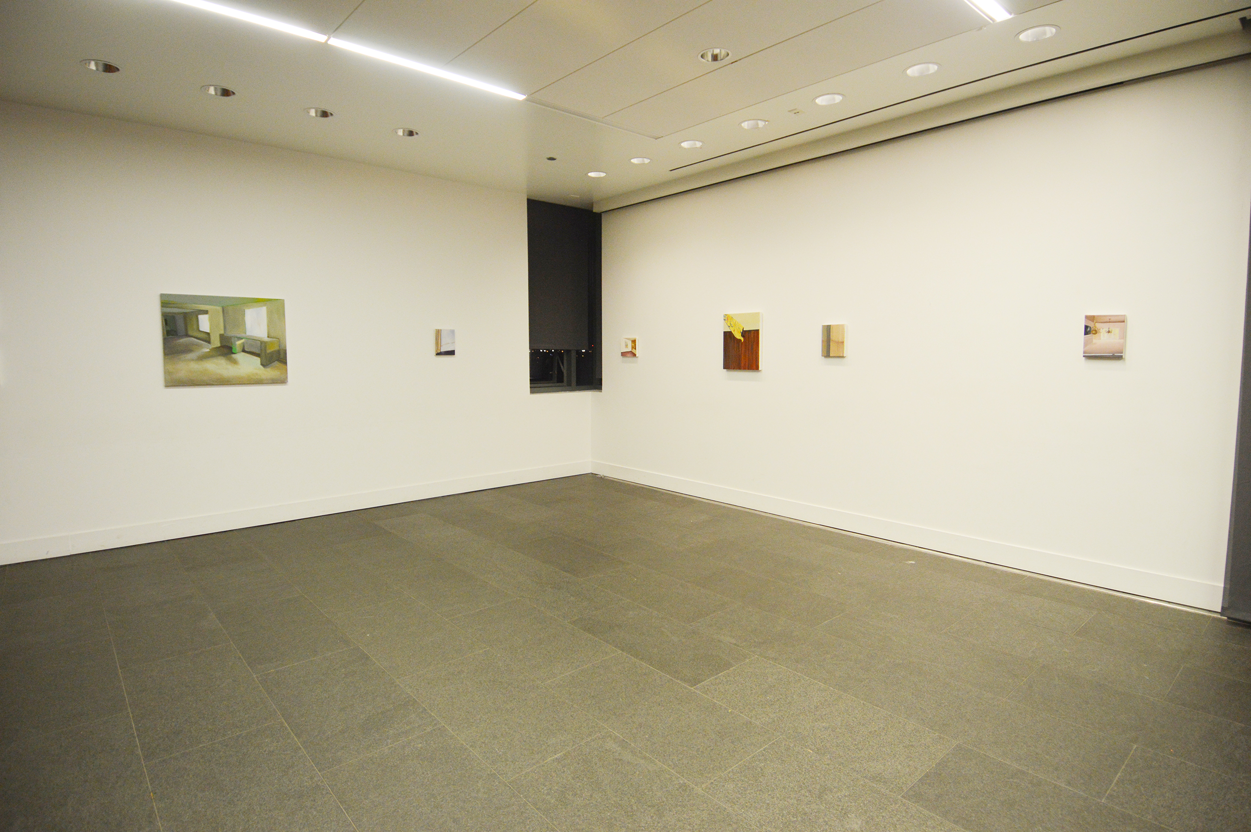Installation view, Logan Center for the Arts