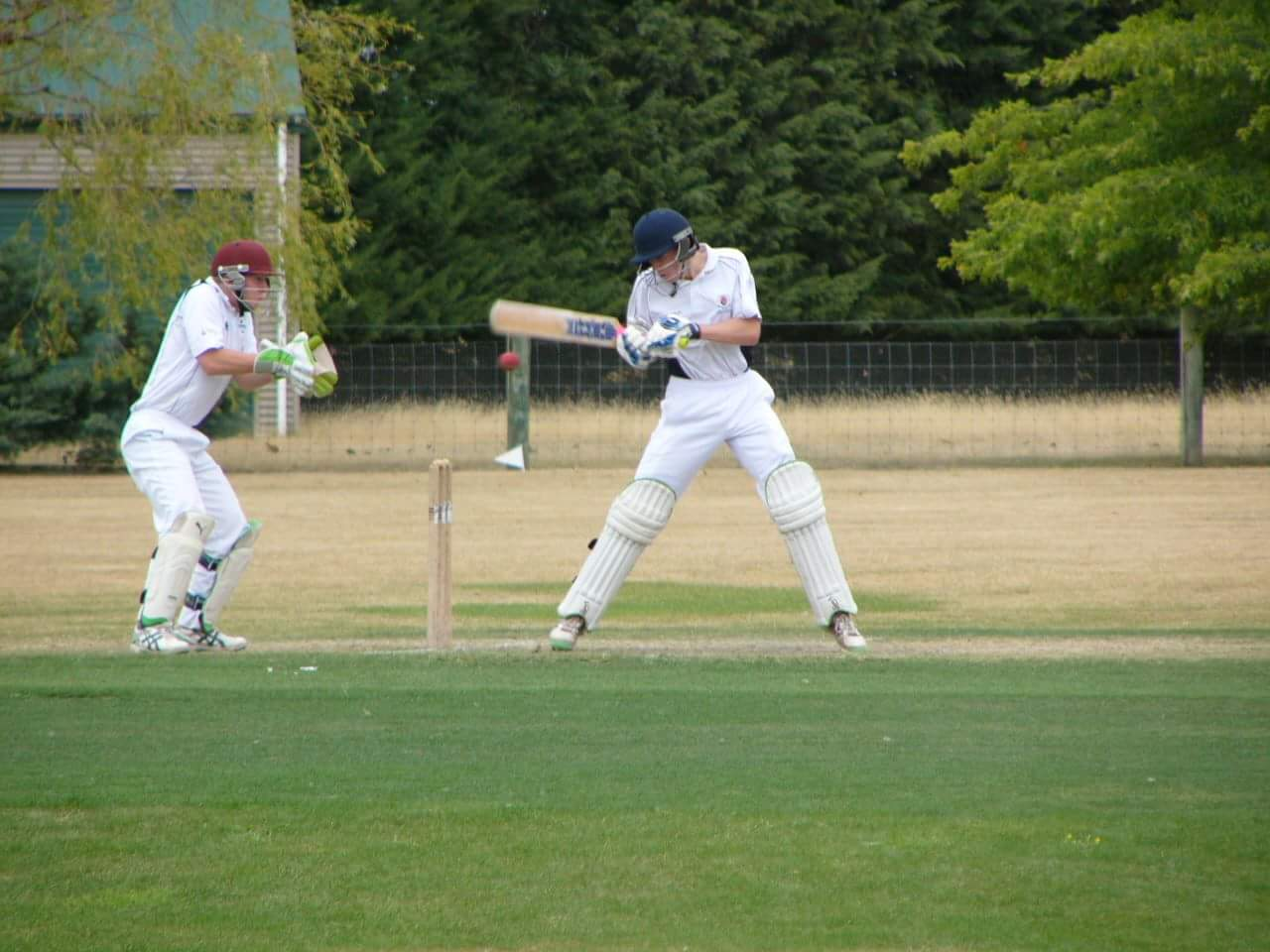 Southland cricketer Jack Mockford batting for the Governor General's Youth XI against a Willows XI in Christchurch. Photo: Supplied