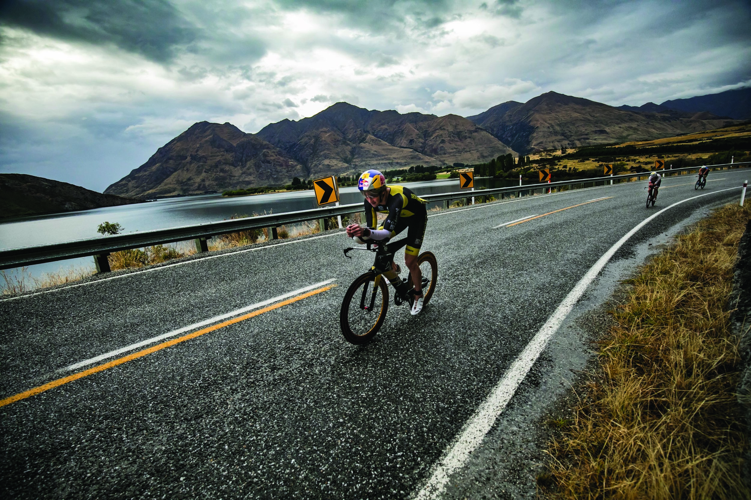Photo: Challenge Wanaka will once again host the New Zealand National AquaBike Championship in February, that will see competitors swim two laps in the crystal-clear waters of Lake Wanaka and ride two laps of the bike route. Pic: Supplied