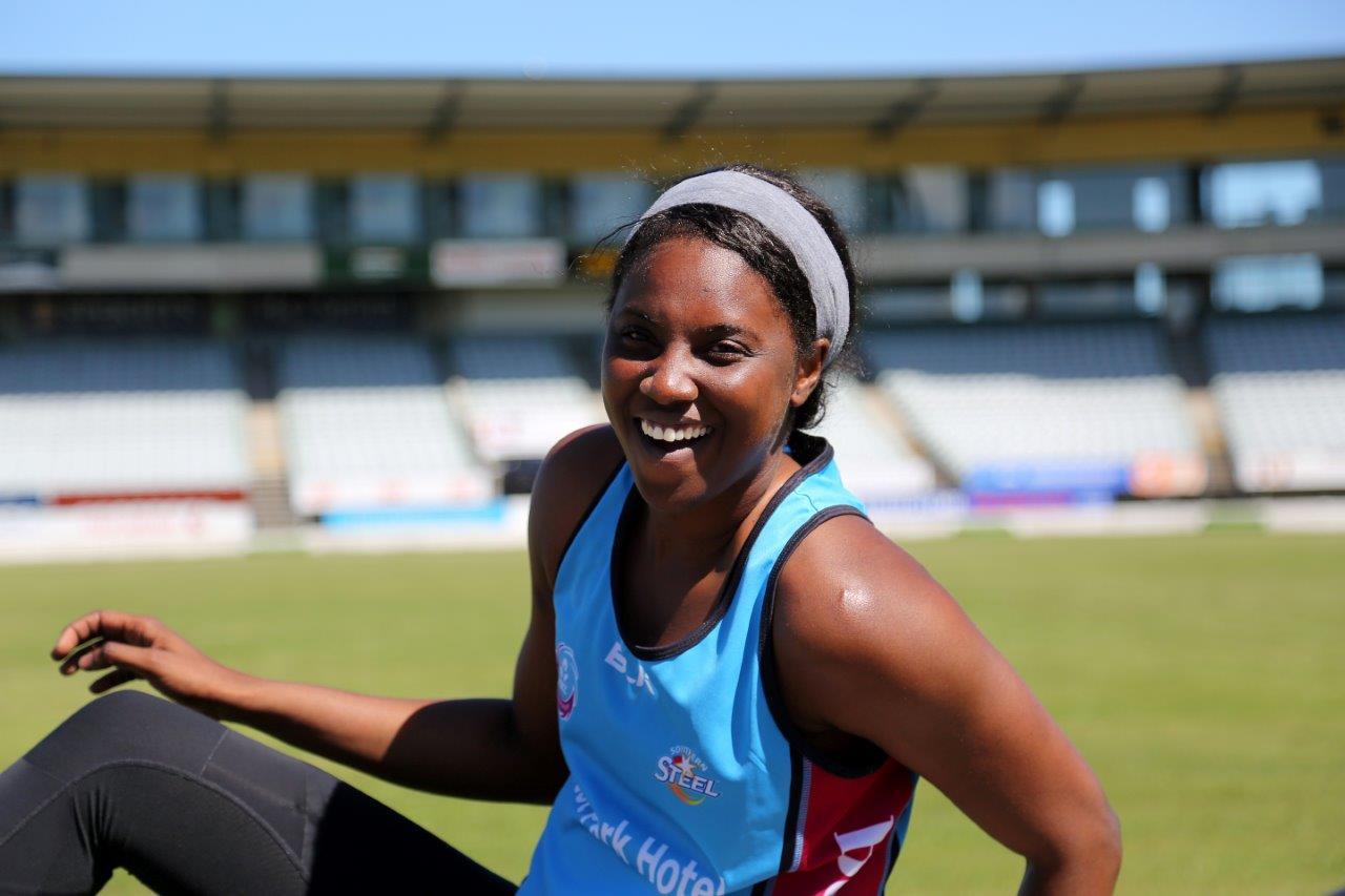 Photo: Jamaican international Malysha Kelly. Pic: Dianne Manson