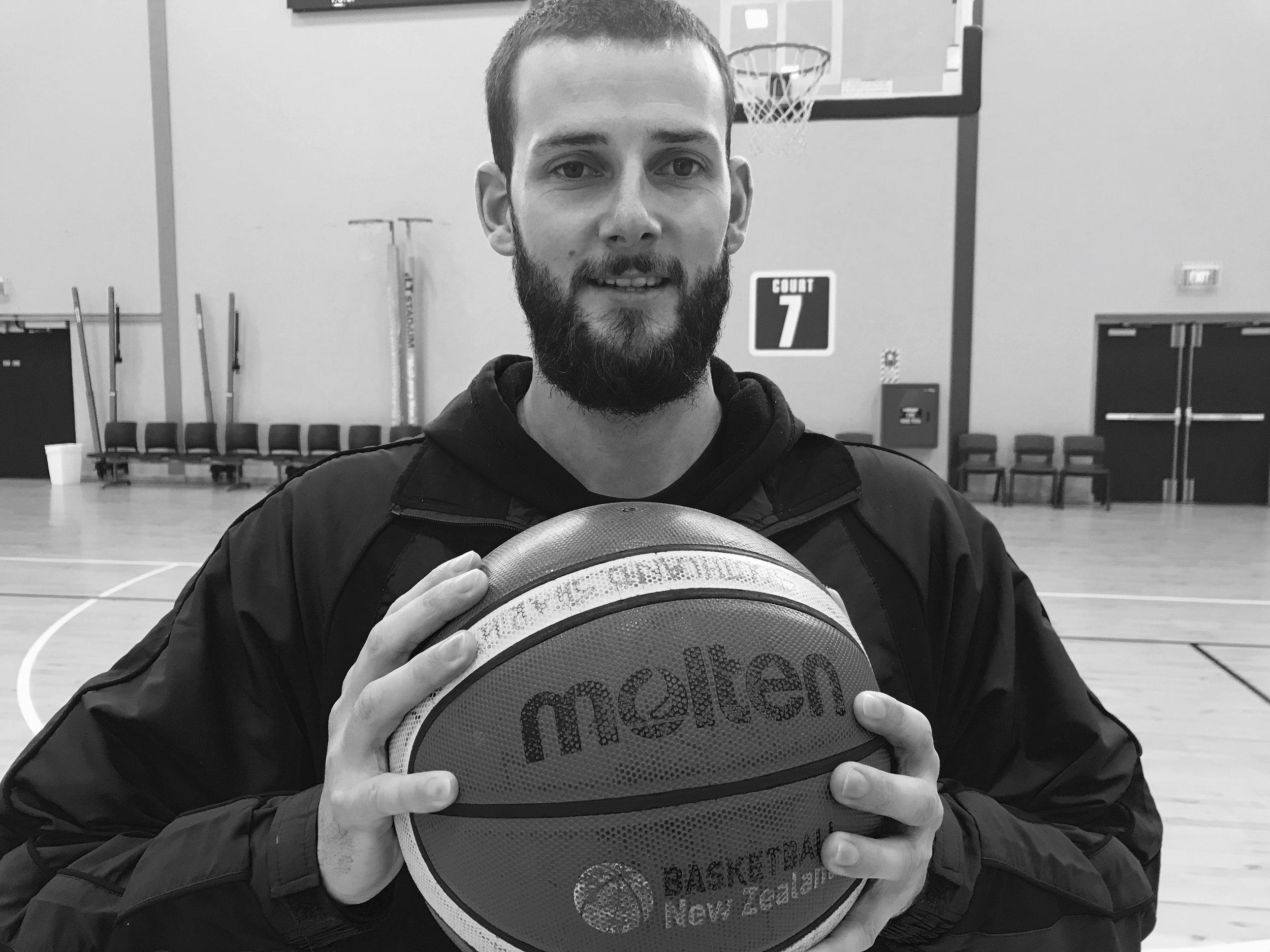 Photo: Southland Basketball Association development officer Dan Peck. Pic: Nathan Burdon