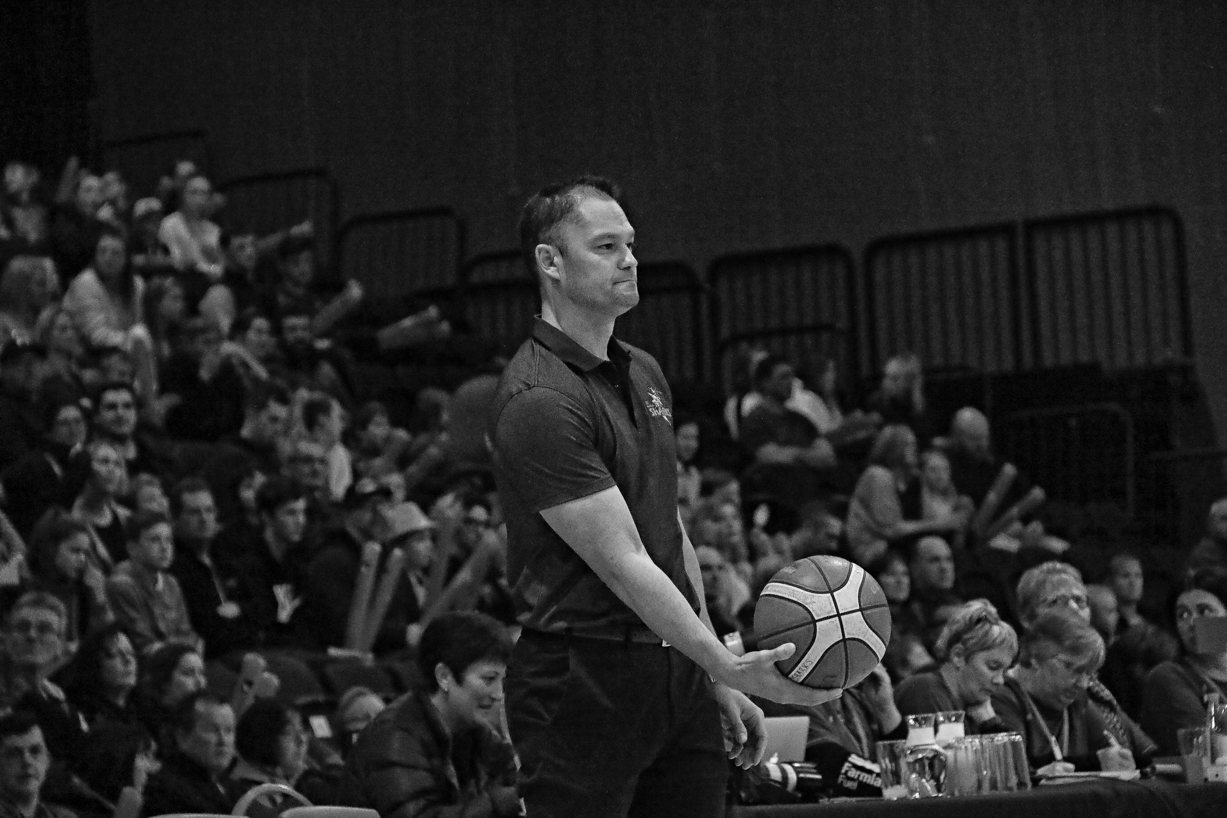 Photo: Southland Sharks coach Judd Flavell. Pic: Southland Sharks