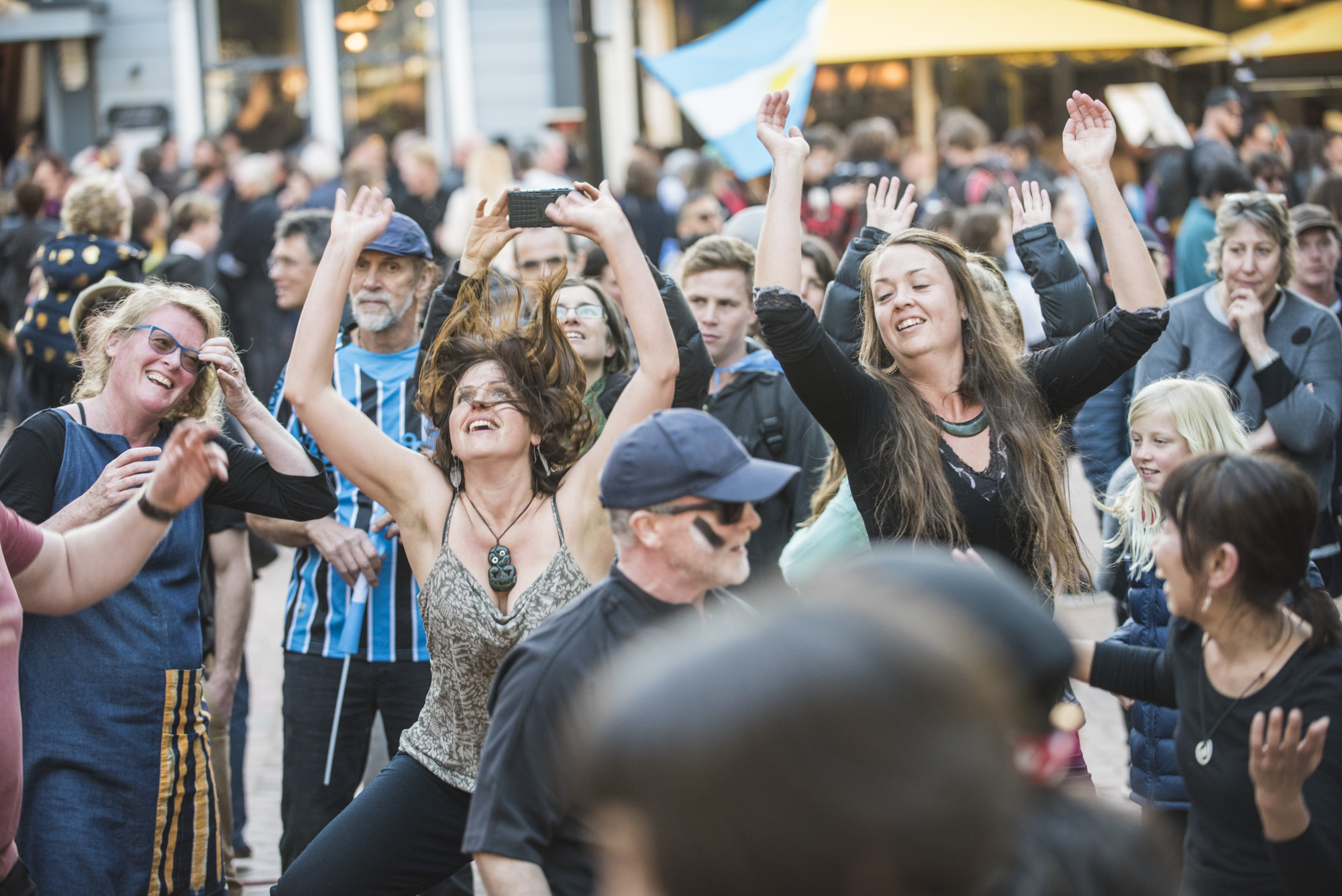 Photo: Nelson street party. Pic Steve Hussey.
