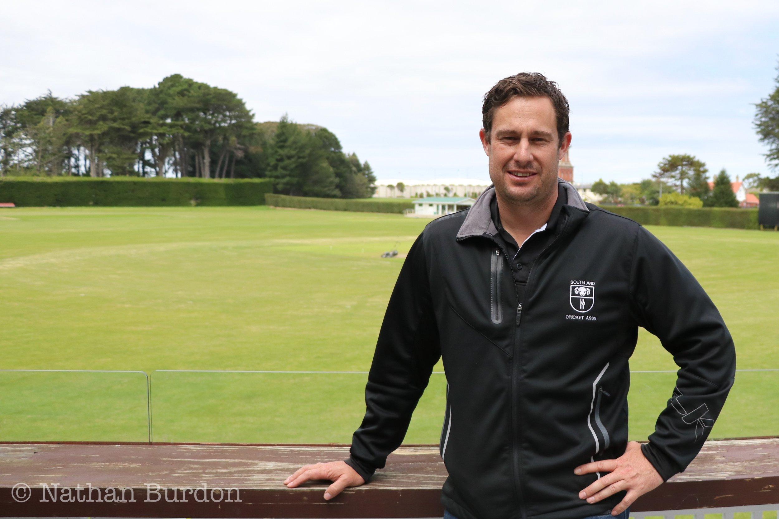 Photo: Southland Cricket Association general manager Jason Domigan. Pic: Nathan Burdon