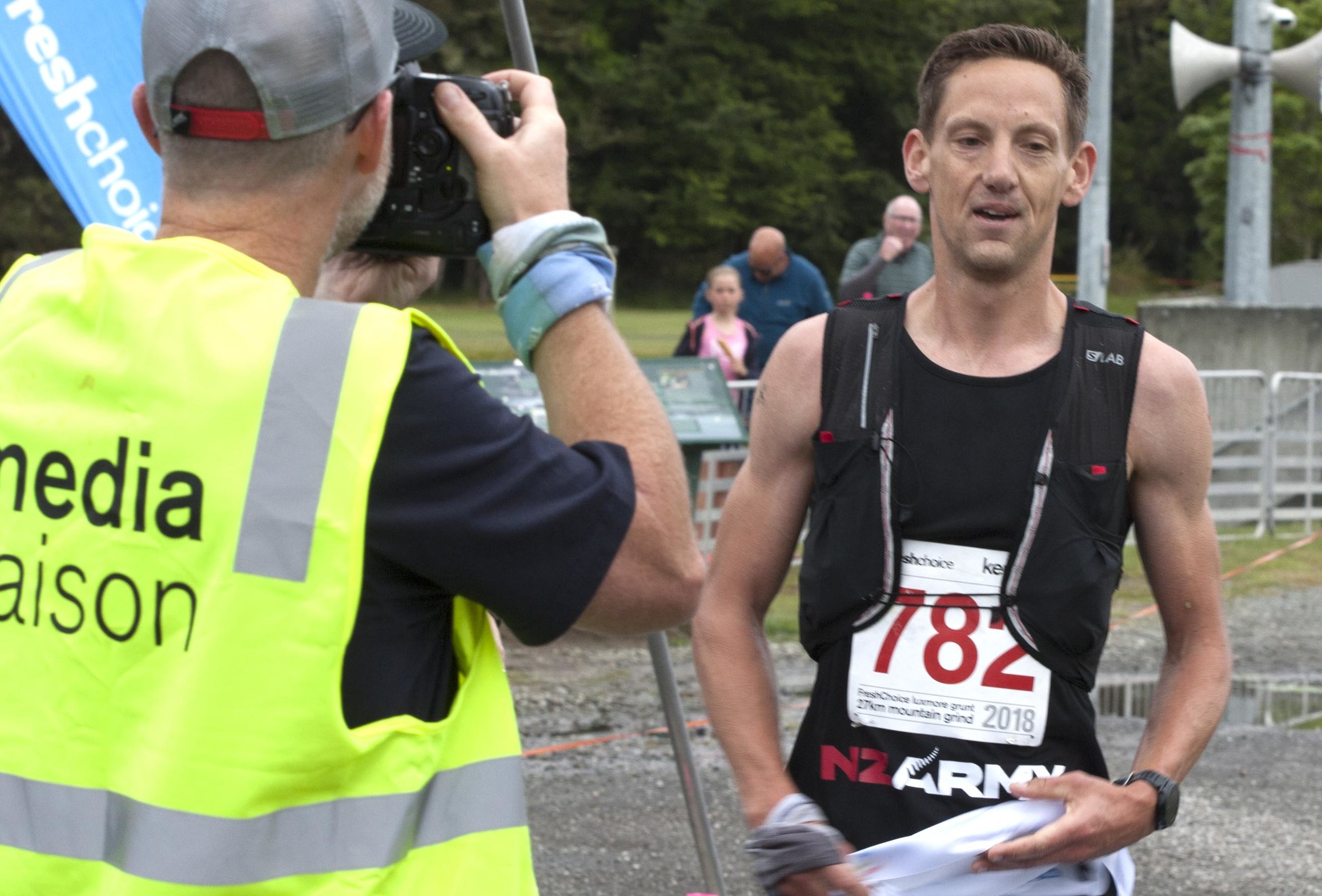Photo: New Luxmore Grunt record holder Andy Good. Pic: Barry Harcourt