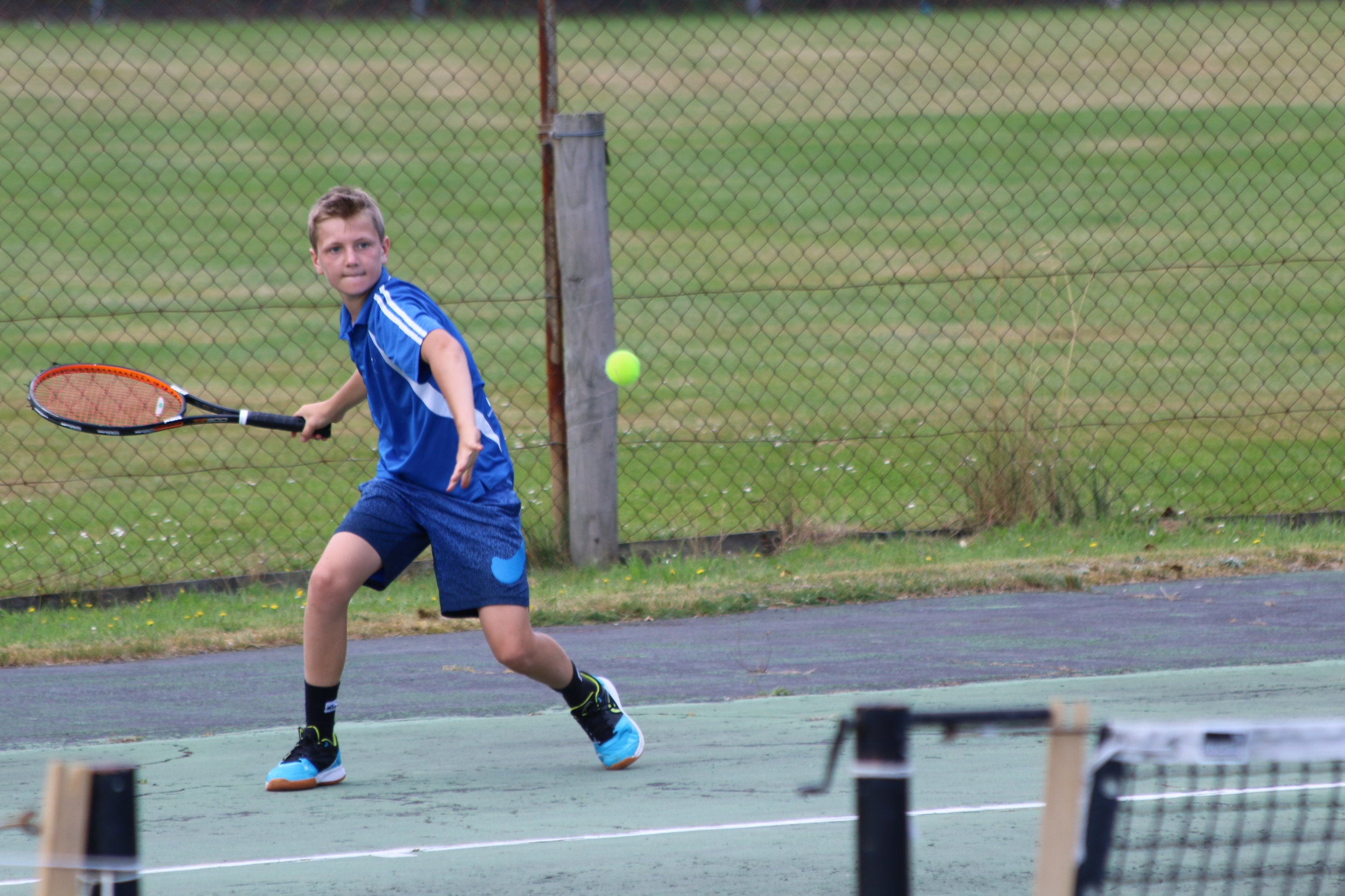 Photo: Top ranked Southland 12 and under boys player Cody Stevens. Pic: Tennis Southland