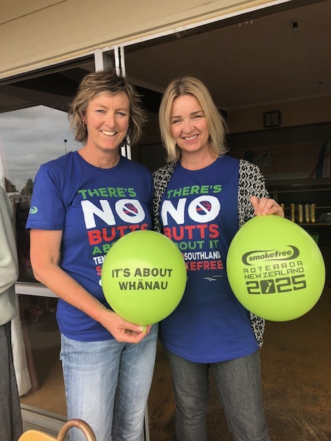 Photo, Jo Grimwood, right. Pic: Tennis Southland