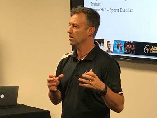 Academy Southland manager Jason McKenzie. Pic: Nathan Burdon