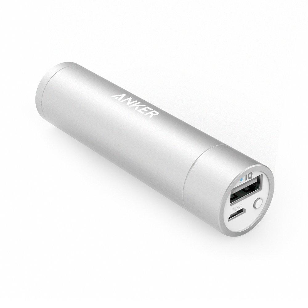 Anker PowerCore+ mini 3350mAh Lipstick-Sized Portable Charger