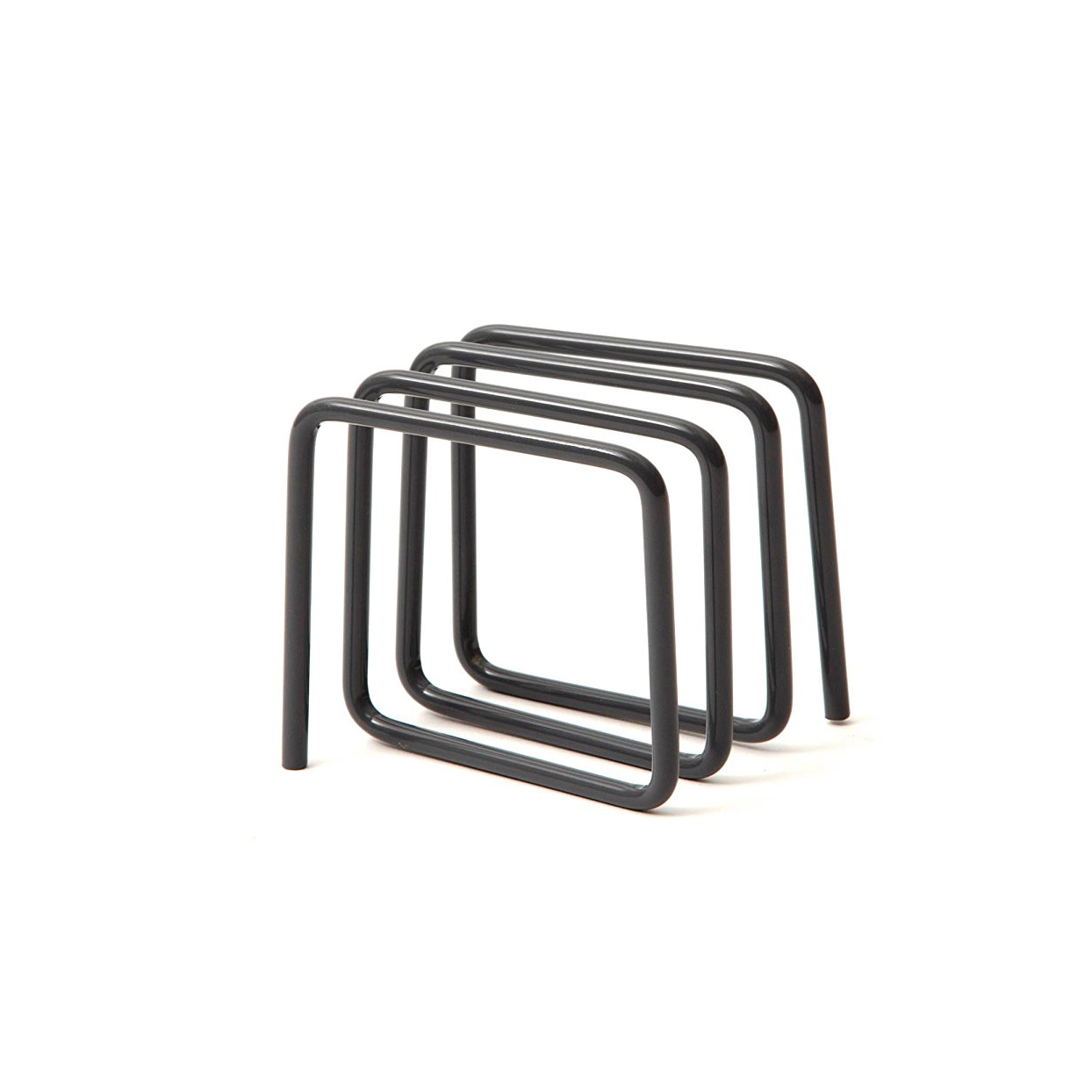 Block Letter Rack, Grey