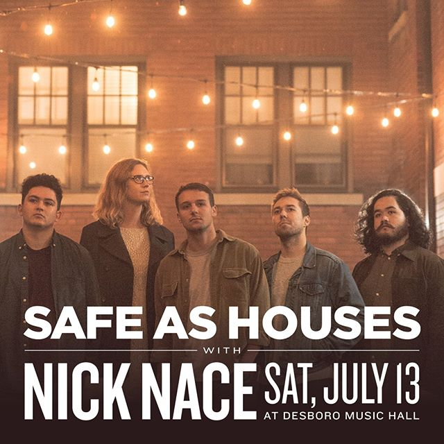 See you tomorrow at the Desboro Music Hall. Come hang out with us and Nick Nace.
