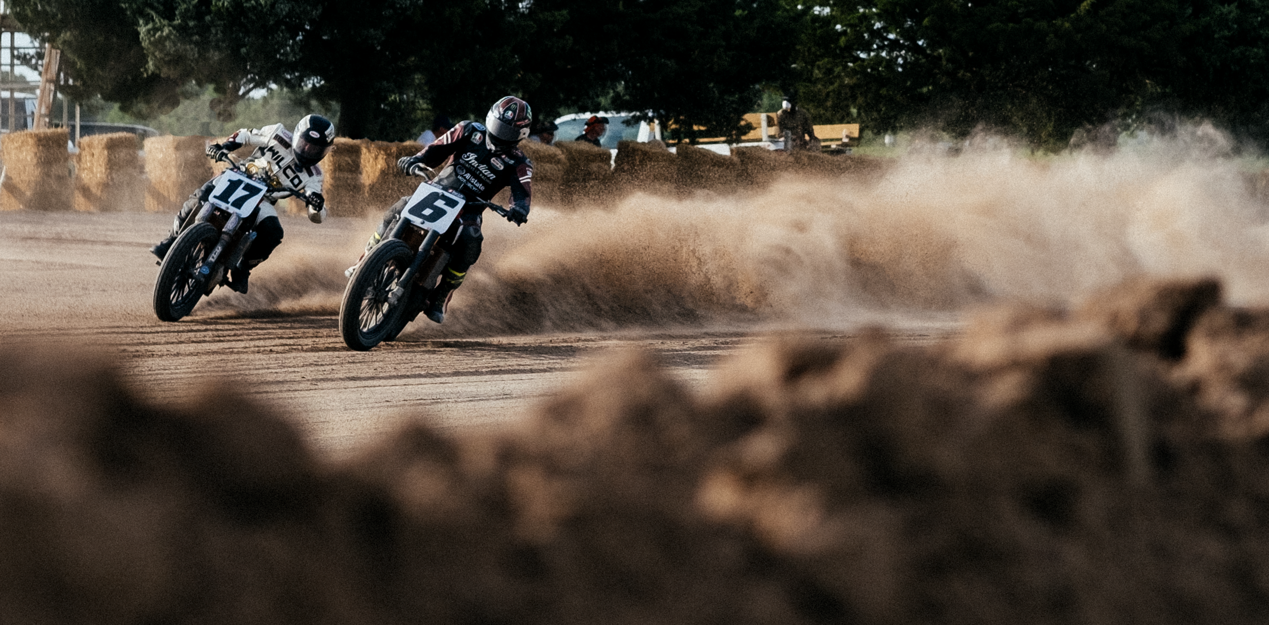 Racers Henry Wiles No. 17 and Brad Baker No. 6. Shot on the Fuji XT-2 35mm.
