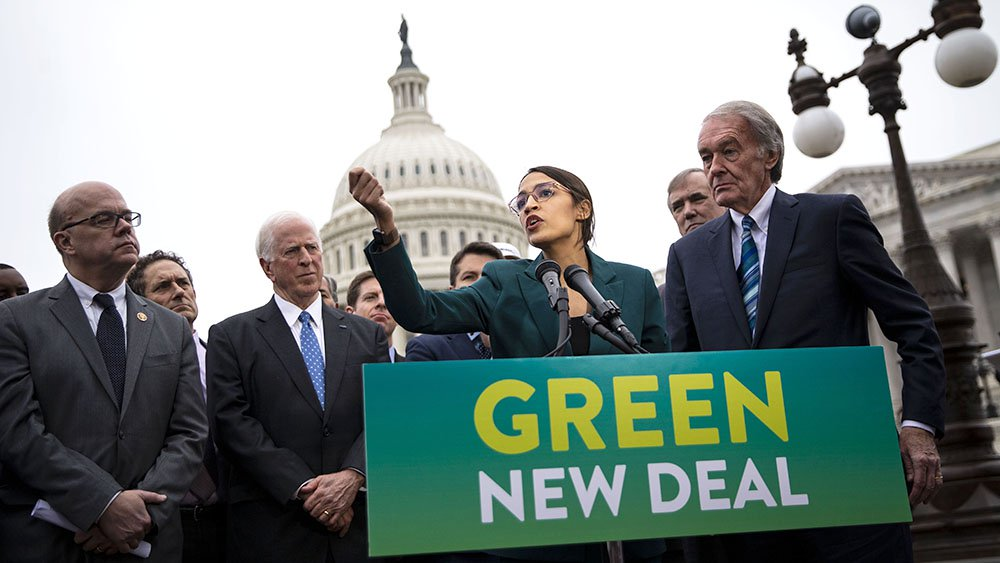 when was the green new deal proposed