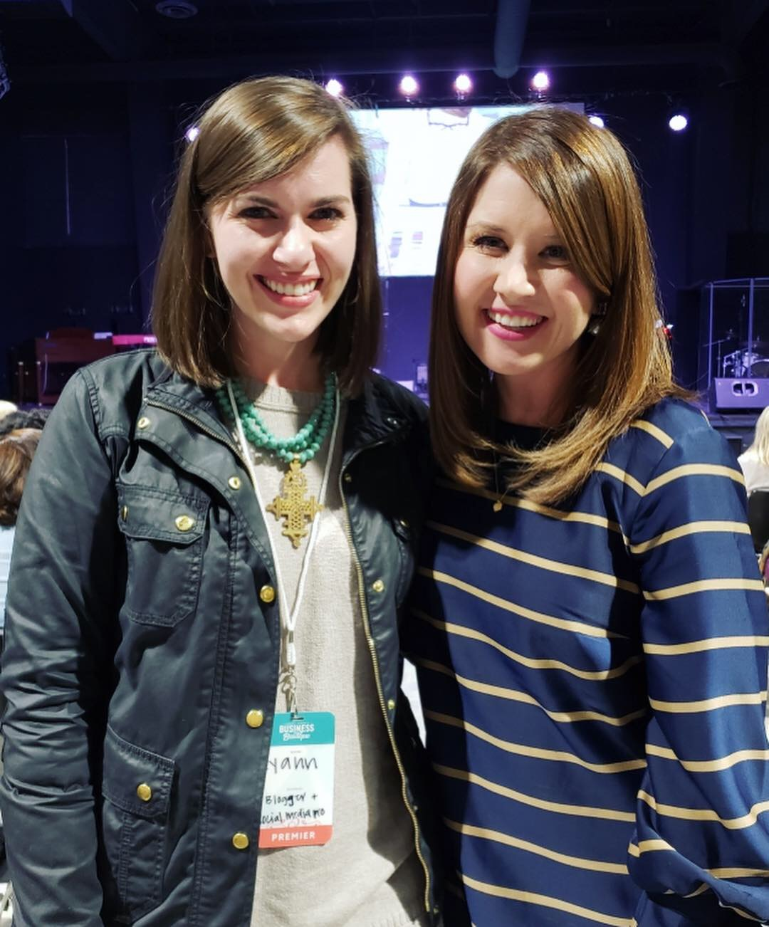Total fangirl moment getting to meet author Emily Ley!