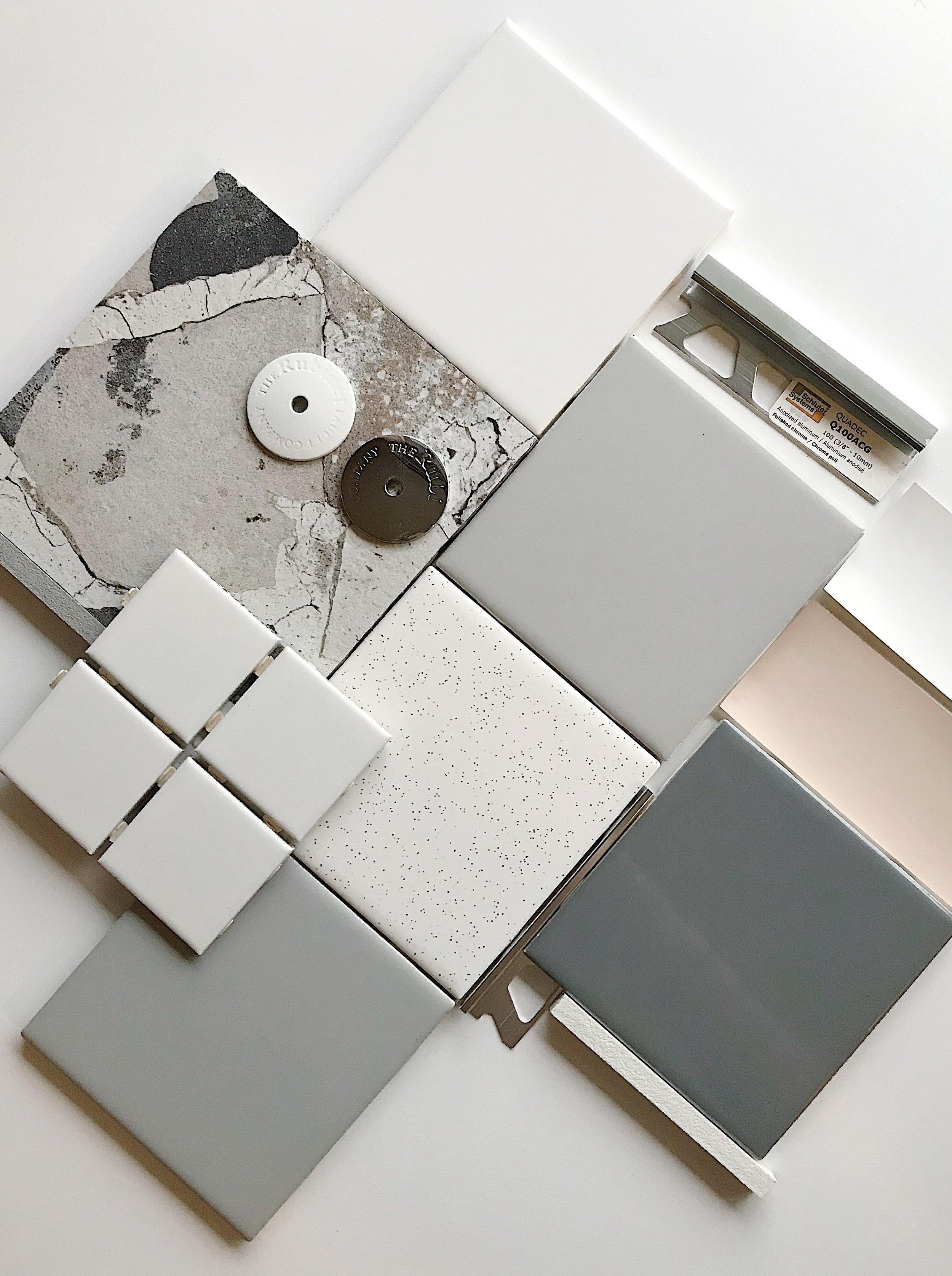 Detroit Design Materials Palette