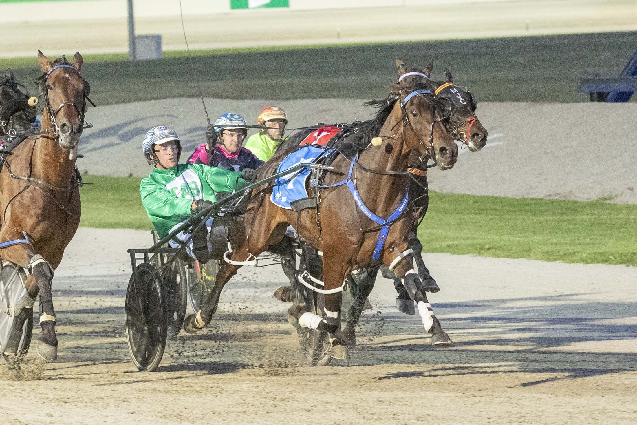 Todd McCarthy and Galactic Star were never headed to take victory on night one of TAB ID18.