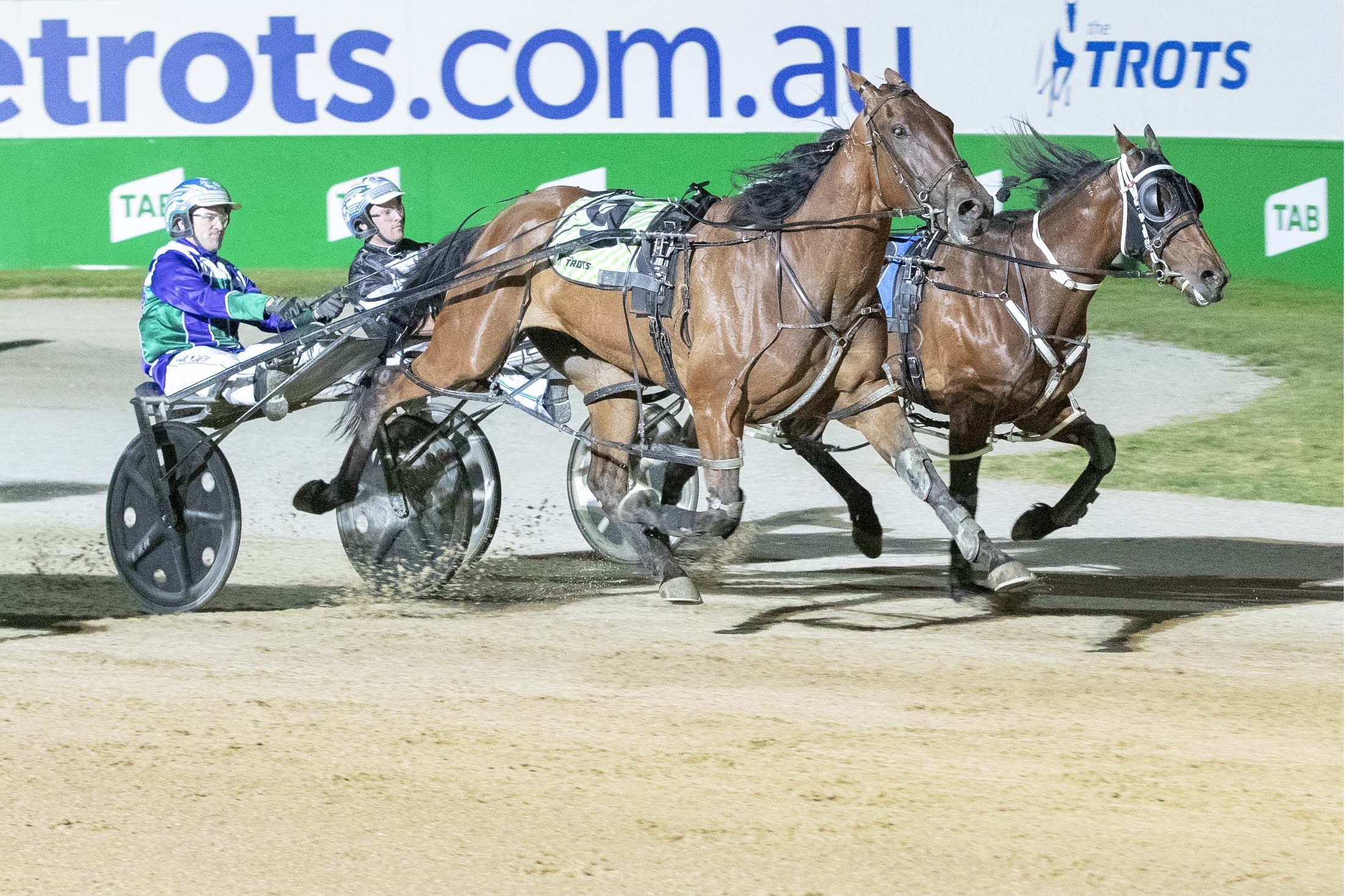 Replaced Eye proves too sharp as New South Wales' Craig Cross and Luke McCarthy combine for victory at Tabcorp Park Melton.