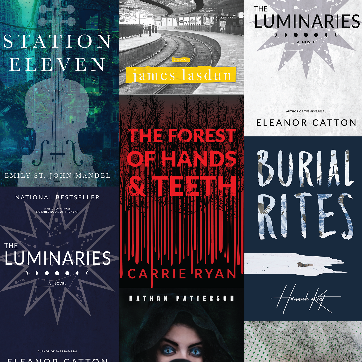 A Collection of Redesigned Covers
