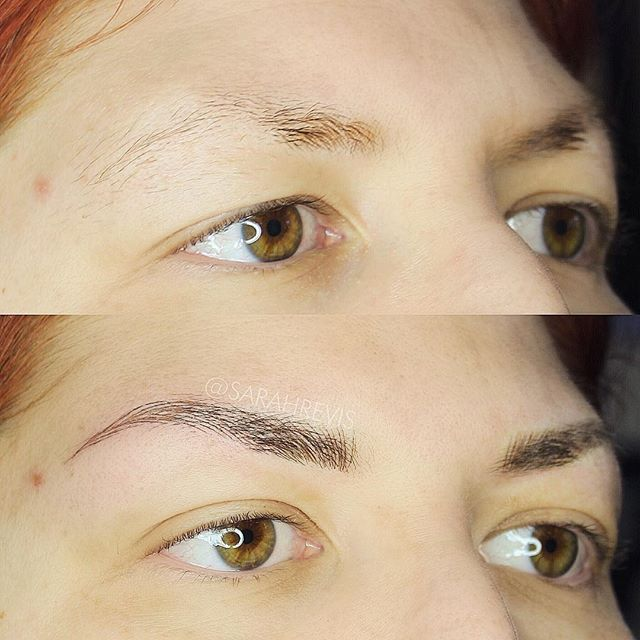 💞first session💞 laying down the first layer for this fresh new brow shape! @warhorsetattoo #browmagic #berkeley #permanentmakeup #microblading