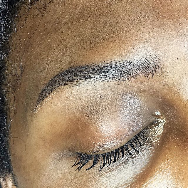 ✨First Session✨ I am so incredibly lucky to have the sweetest, strongest, most beautiful and trusting clients ever! 😘@warhorsetattoo #browsinmotion #berkeley #browmagic #microblading #sarahrevisbrows