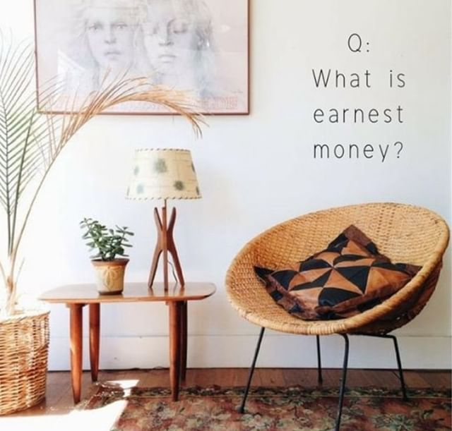 When buying a house, earnest money (usually 1-3% of selling price) is provided by the buyer to show the seller they are serious about buying their house. Don't confuse this with the down payment on the house. They are two separate things. The earnest money check is turned into the title company, who will hold it in an escrow account. You will lose the earnest money if you breach the contract. Otherwise, this is a deposit, and you will get it back, or it can be applied to your down payment amount at closing. #atx #openhouseaustin #austinopenhouse #homebuyers