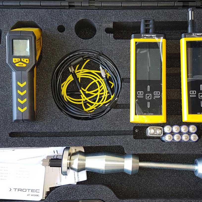 Moisture Detection Equipment - Trotec - Tramex