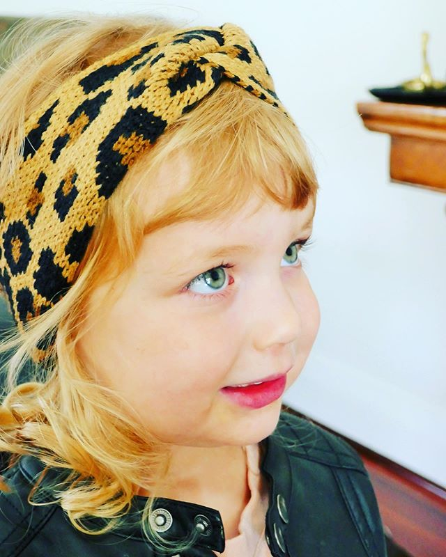 """Just in, our """"Leopard Print Cross Head Band"""". Limited stock,  just $8.95. Click link in bio to shop now  #kidswinterfashion #kidsfashionaccessories #girlswinterfashion #headband #headbands #kidsheadband"""