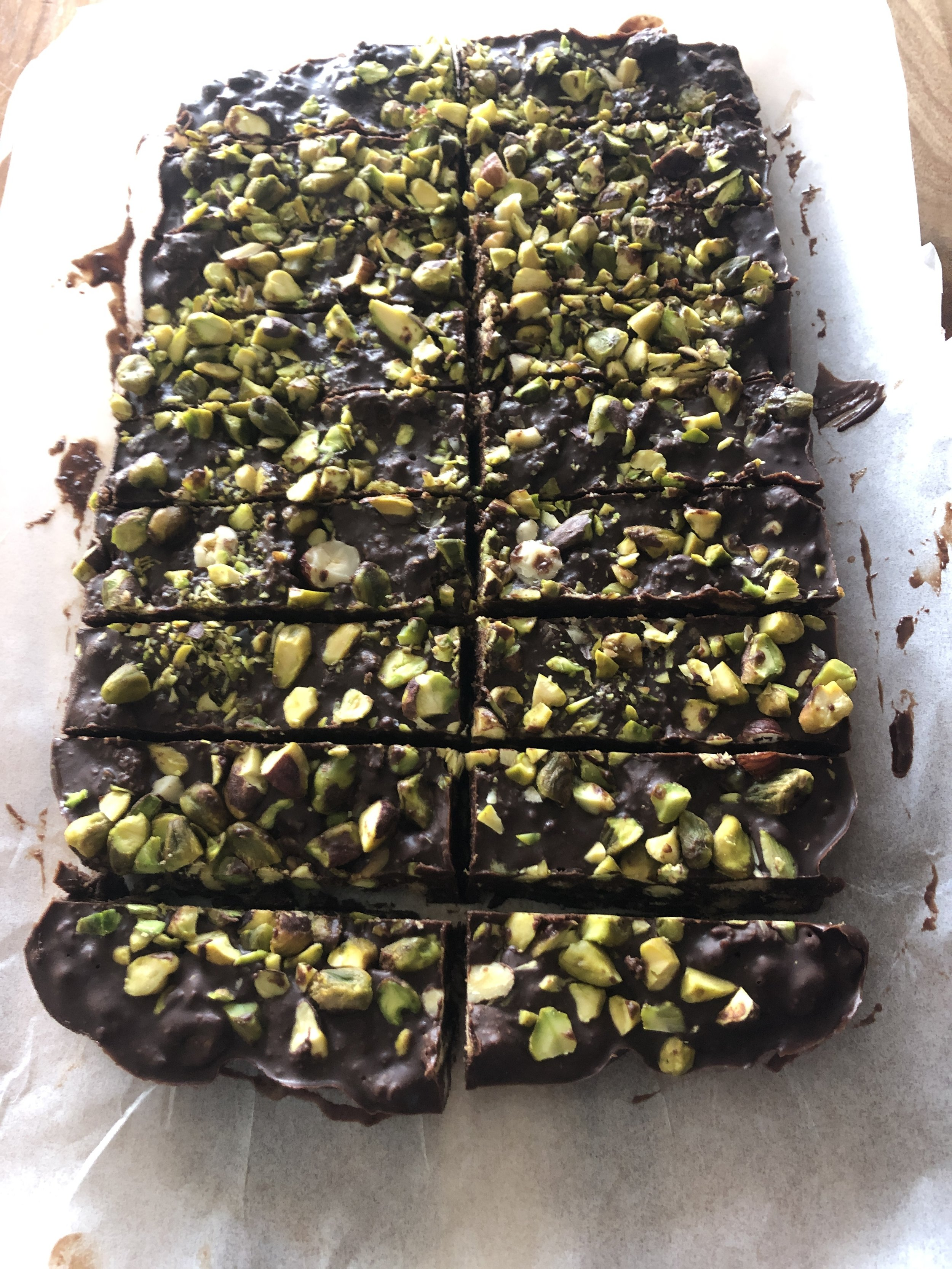 Ottolenghi's mint chocolate fridge cake makes the perfect leaving gift -