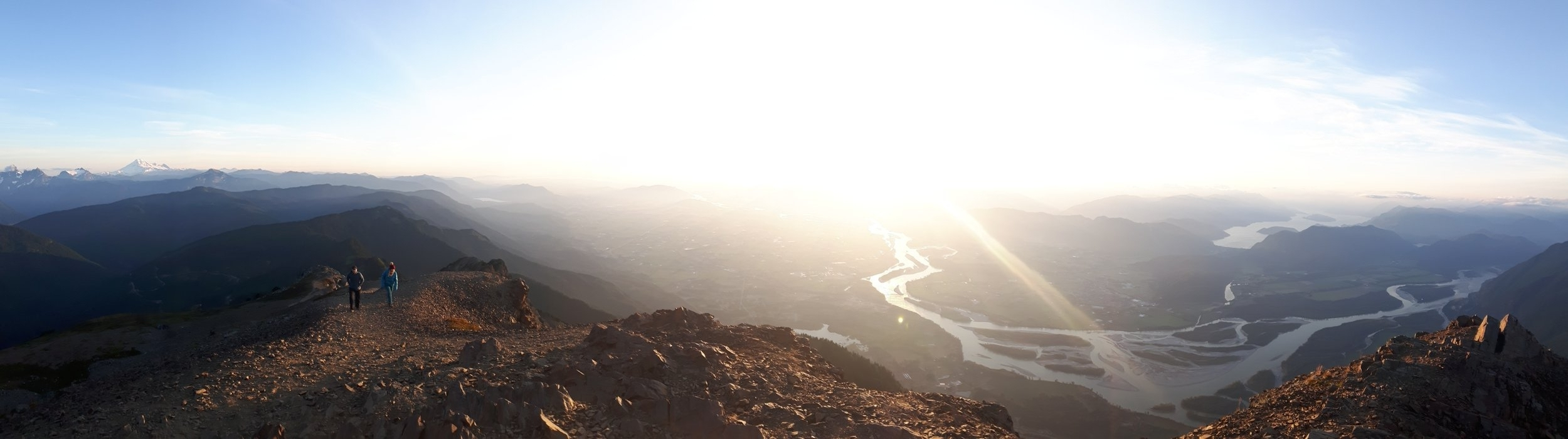 We are proudly located in the heart of the Fraser Valley, BC. Panoramic view from atop Mt. Cheam. Natalie Jones