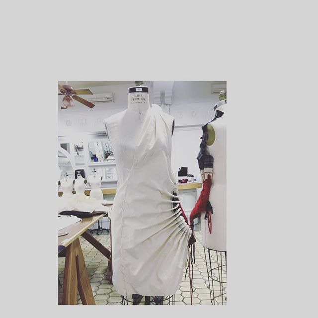 Draping the shapes #draping #fashiondesigner