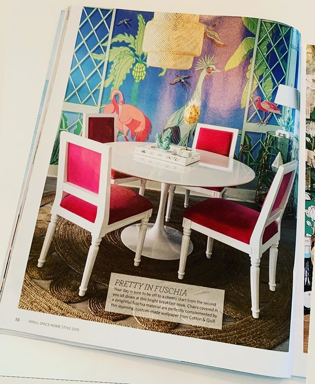 Our design is featured in the 2019 issue of Small Space Home Style Magazine! Pick up a copy today 🌸  #myhousebeautiful #interiorstyling #decorchic #decoraddict #pursuepretty #flashesofdelight #decoratewithcolor #southerncharm #inspiredinteriors #furniturestore #wilmingtonnc #uncw #coastalfurniture #wilmington #wrighstvillebeach #coastalhome #coastaldecor #coastalliving #whatsupwilmington #downtownwilmington #leland #carolinabeach #beachstyle #furnituredesign #art #blueaesthetic #coastaldecor #coastalstyle #smallspacehomestyle