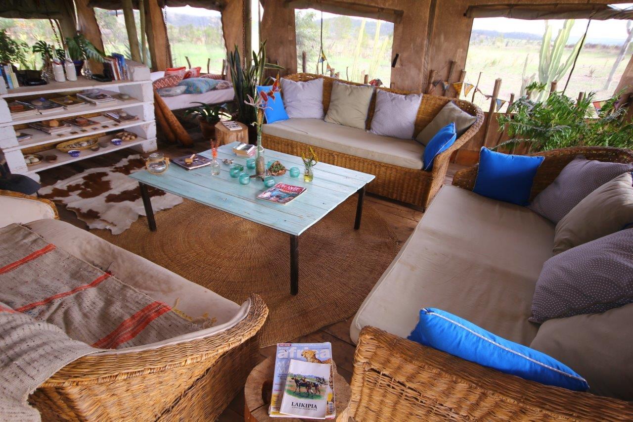 Sieku Glamping - sitting room in main mess tent - Copy.JPG