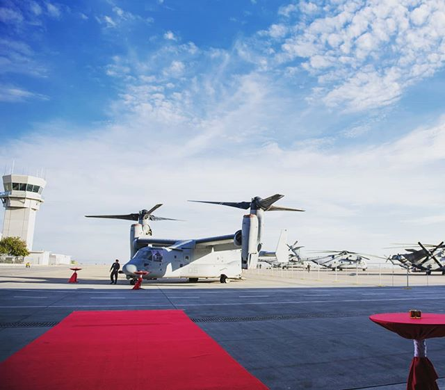 "We saw 300 jaws drop as our guests arrived at their awards dinner inside an airplane hangar at MCAS Miramar, one of the only active military bases allowing public events"" - ""With sightings of Tom Cruise in San Diego during the filming of Top Gun 2, we couldn't help reminisce of our event at the base he filmed the first movie on""  #eventmanagement #airplane #hangar #mcasmiramar #sandiego #eventspace"