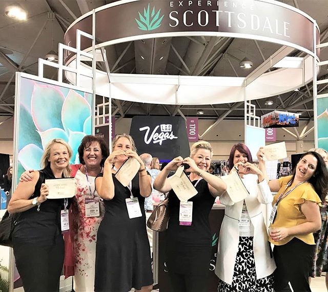 Thank you everyone for stopping by @iwshow 2018. So fun to connect with friends and familiar faces as well as make some new connections. Our burlap bag giveaway was a big hit.  Work hard, be kind. I ❤️AZA  #IW2018 #incentiveprograms #destinationmanagementservices #Arizona #eventprofs #scottsdale #connecting