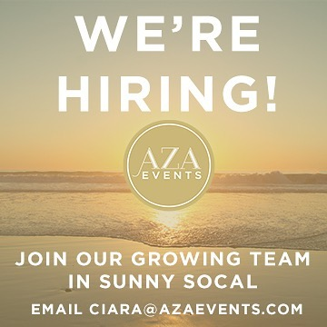 Our Southern California team is growing! We're seeking rockstar candidates for our Operations and Sales teams. Contact ciara@azaevents.com if you're interested in joining a creative and fun DMC!  #eventprofs #socalevents #meetingprofs #siteyoungleaders