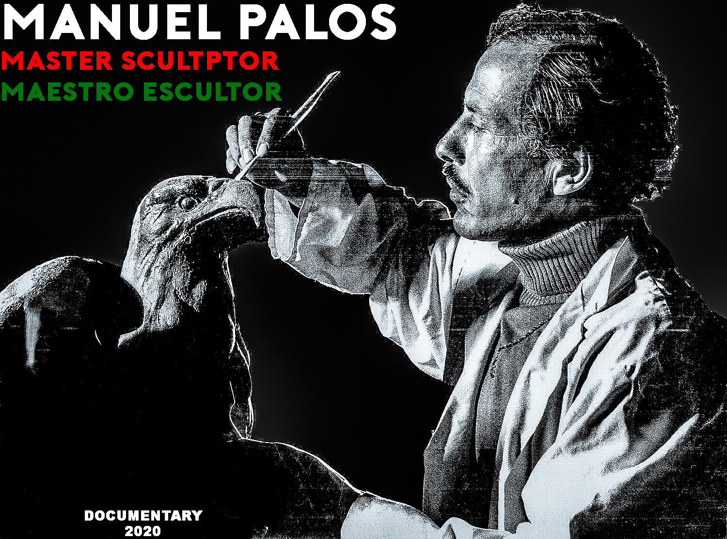 GENRE: ARTHOUSE, INDEPENDENT, AMERICANA, INSPIRATIONAL ,  BILINGUAL RELEASE (ENGLISH + SPANISH)  LOGLINE: Examining the legacy of 30-plus contributions made to San Francisco's Historic Architecture and Landmarks by Master Sculptor, Mexican Artist Manuel Palos    STATUS: IN CONTACT FOR LIFE RIGHTS