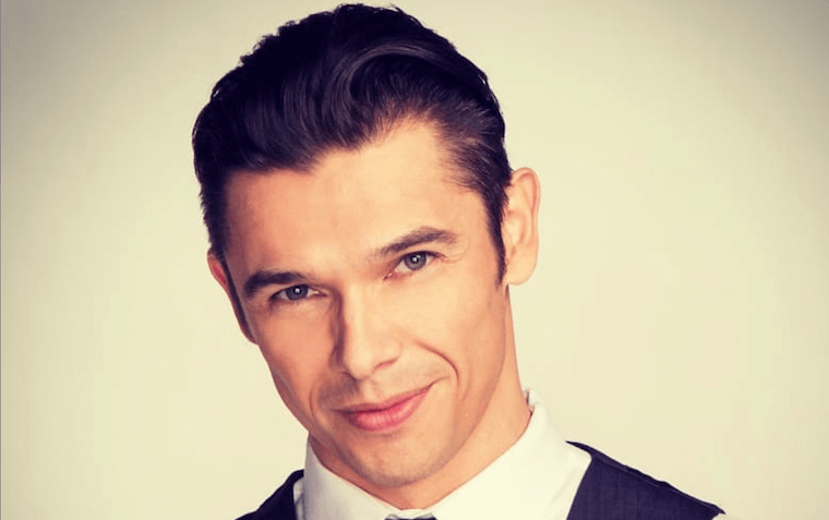 "Pictured: Paul Telfer. Credits: ""Days of Our Lives."""