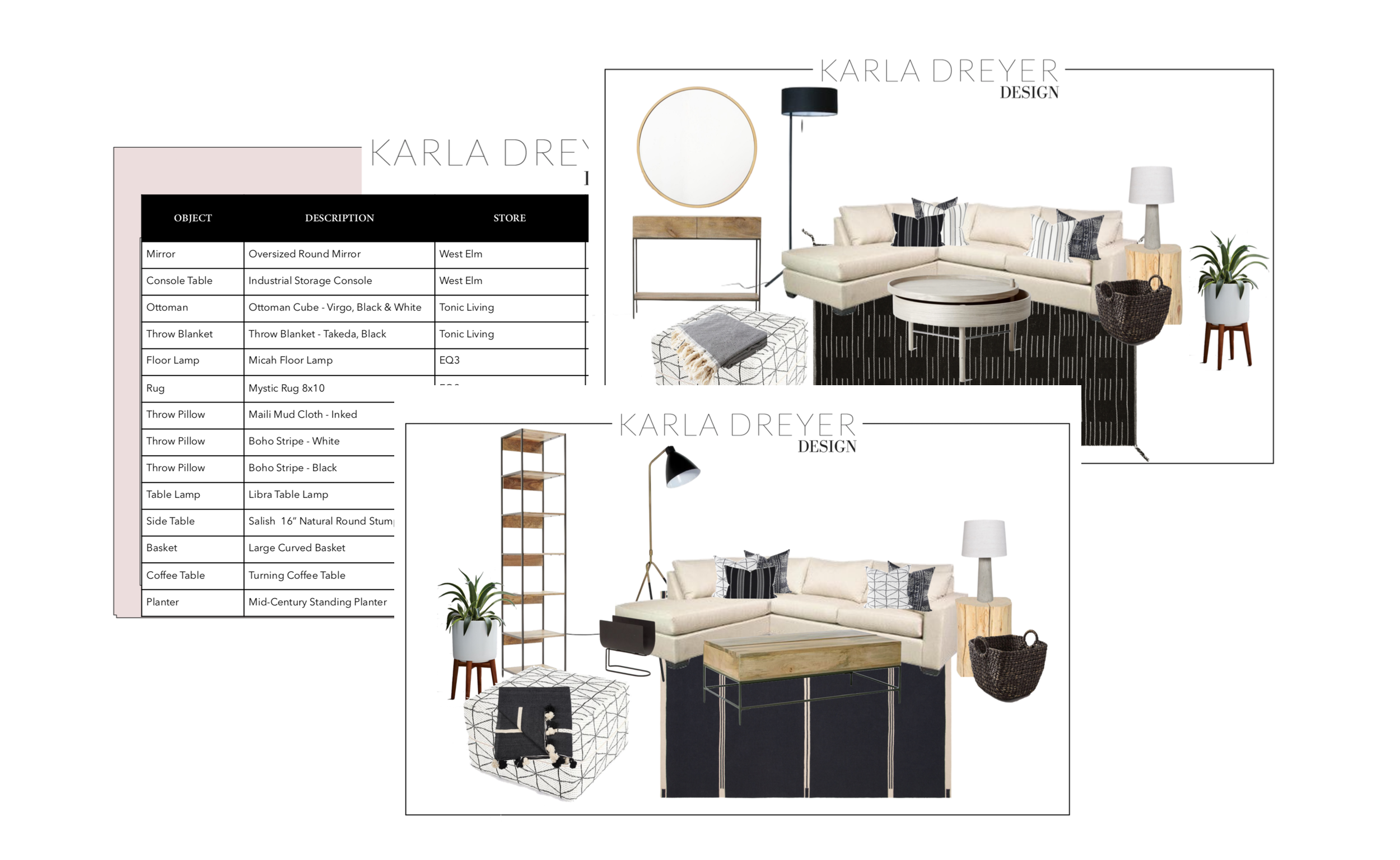 E-design with Karla Dreyer Vancouver Interior Designer and Decorator