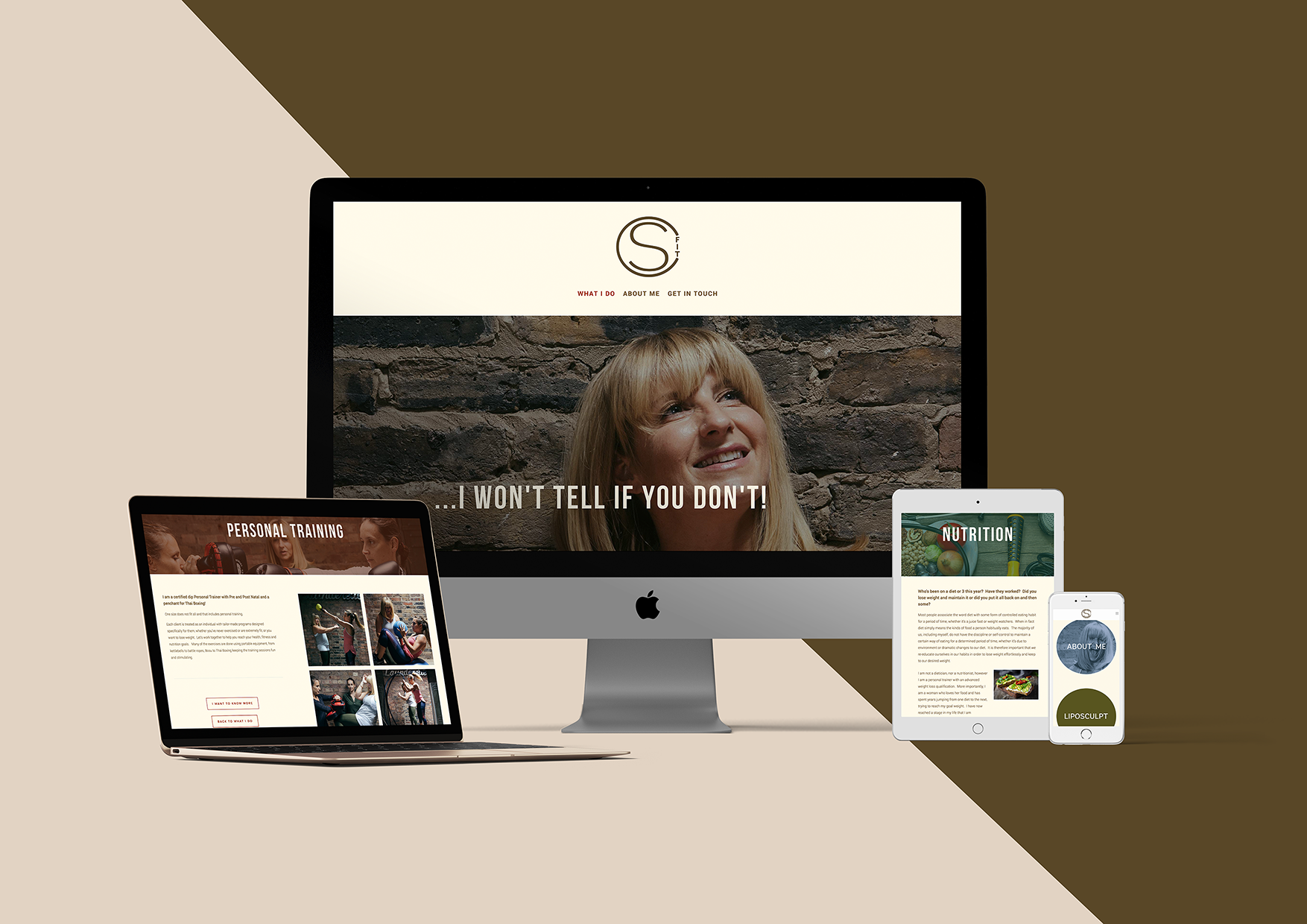 CS FIT - WEBSITE + BRAND COLLATERAL