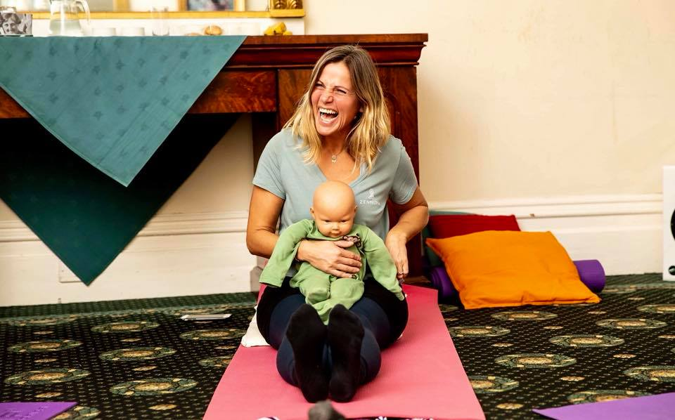 BABY YOGA & MASSAGE AND POST-NATAL YOGA TEACHER TRAINING - The baby yoga & massage and post-natal yoga teacher training, places emphasis on skills and techniques to encourage babies natural development, post-natal healing and a bonding experience for mum and baby.The ZenMuma Baby Yoga & Massage and Post-Natal yoga course provides you with a Professional Certification in Baby Yoga & Massage and Post-Natal Yoga.45-hour total, with three-day contact training. £650Learn More.