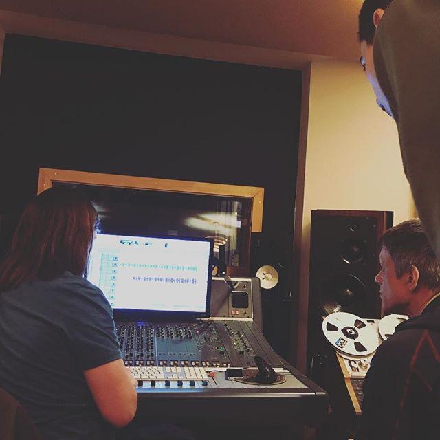 In the recording studio #HoopDriver