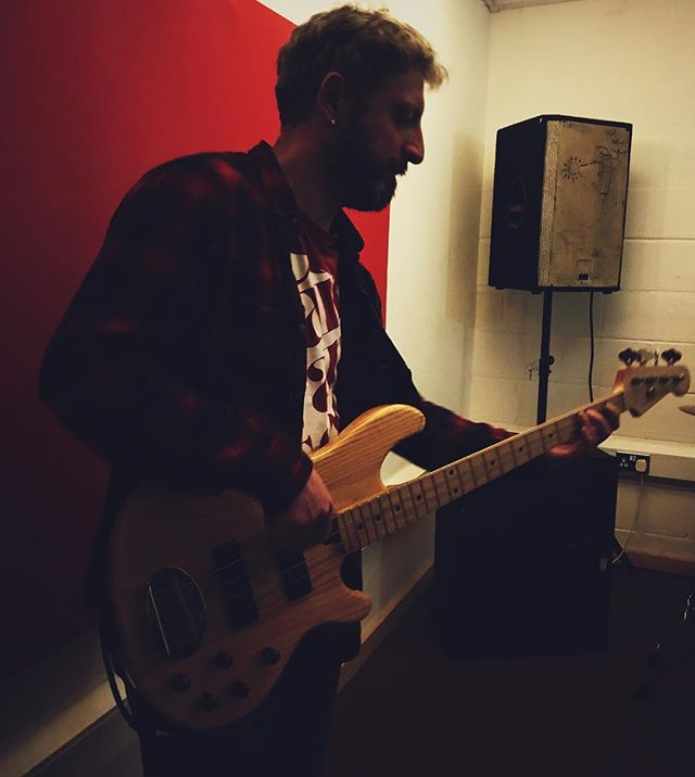 Introducing Efe! Our new bassist (don't worry folks, we haven't lost Vítor, he's gone back to guitar). Looking forward to gigging again soon! #HoopDriver